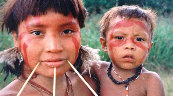 Indígenas Yanomami de Brasil
