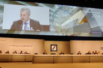 Junta de accionistas del Deutsche Bank en Frankfurt